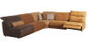 NOUMEA - Canapé d'angle 1 place relax électrique