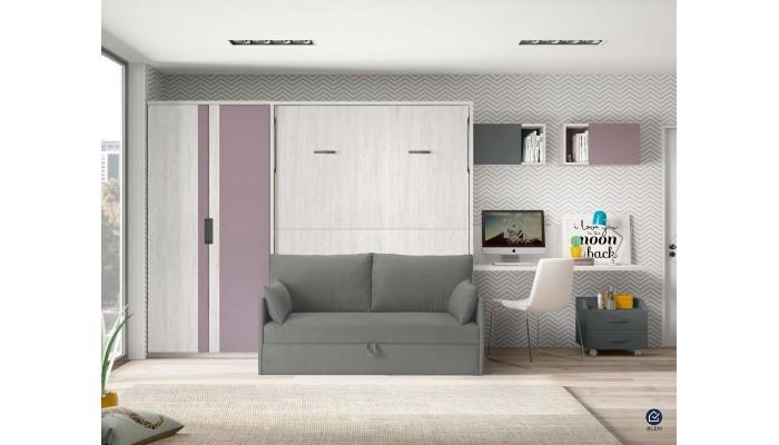 LEA - Enfilade trois portes deux tiroirs