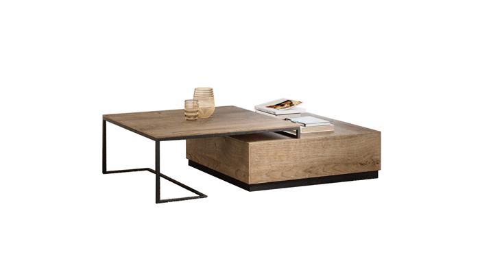Table de salon 1 tiroir sur pied...