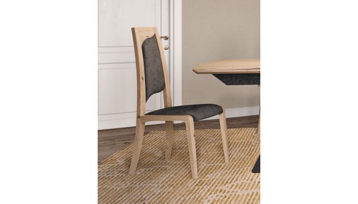 FLORE - Chaise en bois chêne massif