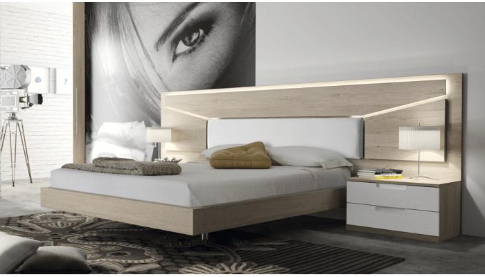 EOS - Lit pour couchage 140 x 190 cm