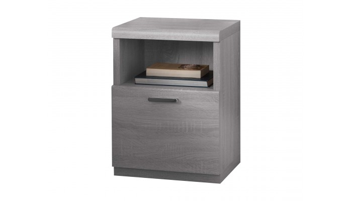MULTY - Chevet 1 tiroir 1 niche