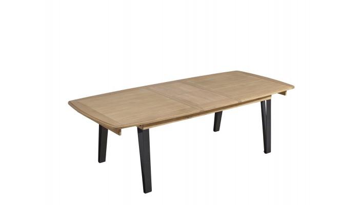 RAFFINE - Table pieds en métal 2...