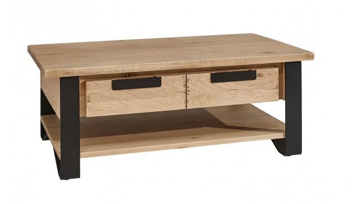 BROOK - Table basse dinette en chêne...