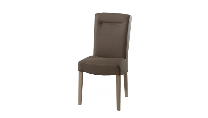 ATHAN - Chaise recouvert en PU...
