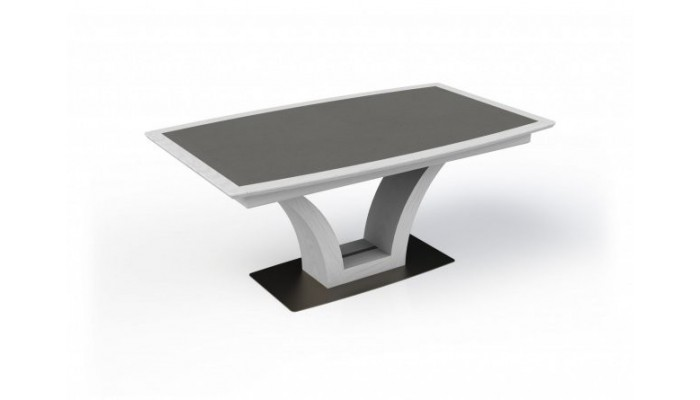 IZA - Table tonneau pied central 1...