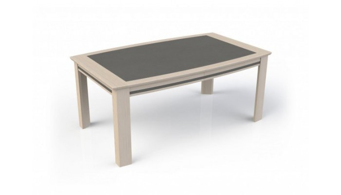 IZA - Table tonneau 3 allonges...