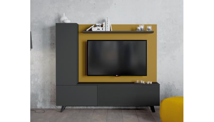 ADICT - Meuble TV piètement métal...