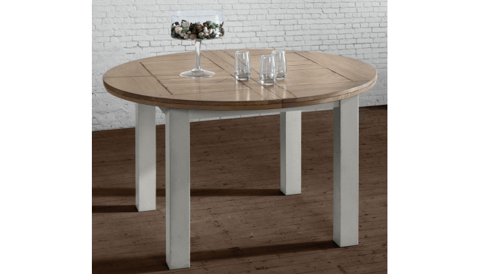 CANTIQUE - Table ronde une allonge de...