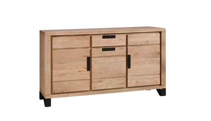 BROOK - Enfilade 3 portes 1 tiroir en...